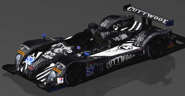 Cuttwood E-Liquid Primary 2015 Sponsor for PR1/ Mathiasen Motorsports